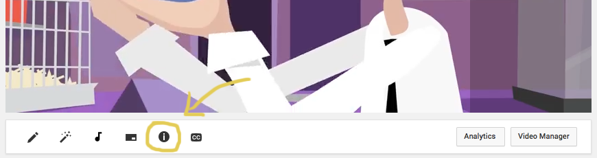Where to find YouTube card button to increase engagement