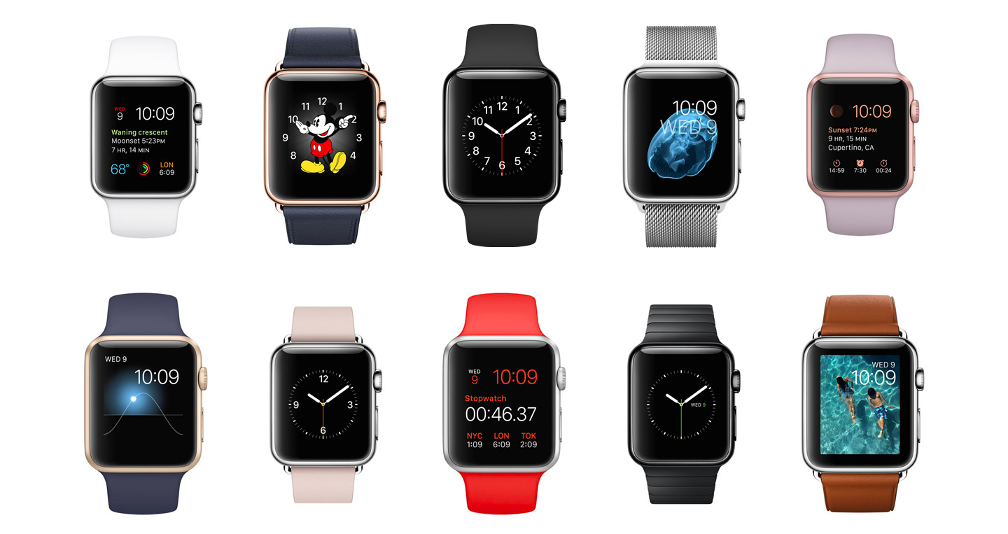 10 different apple watches