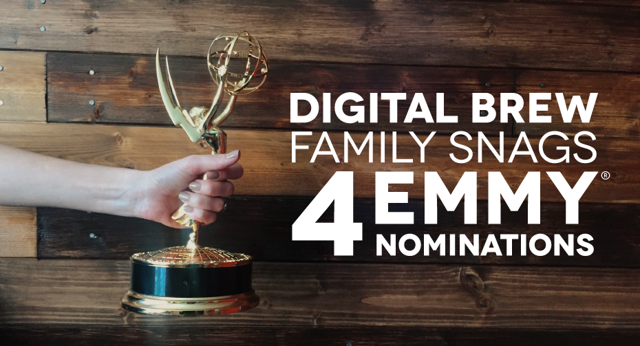Digital brew's emmy