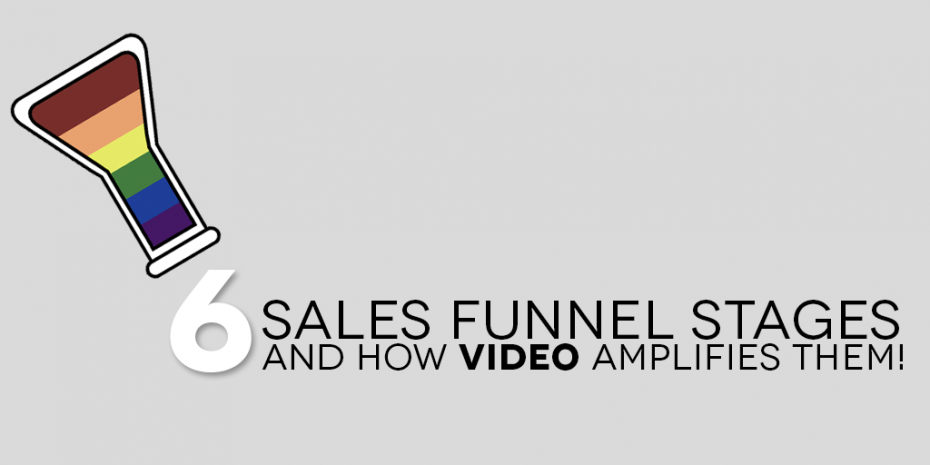 6 Sales Funnel Stages And How Video Amplifies Them