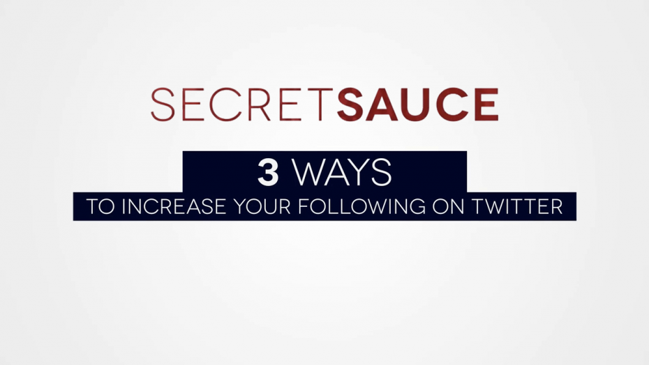 3 Ways To Increase Your Following On Twitter