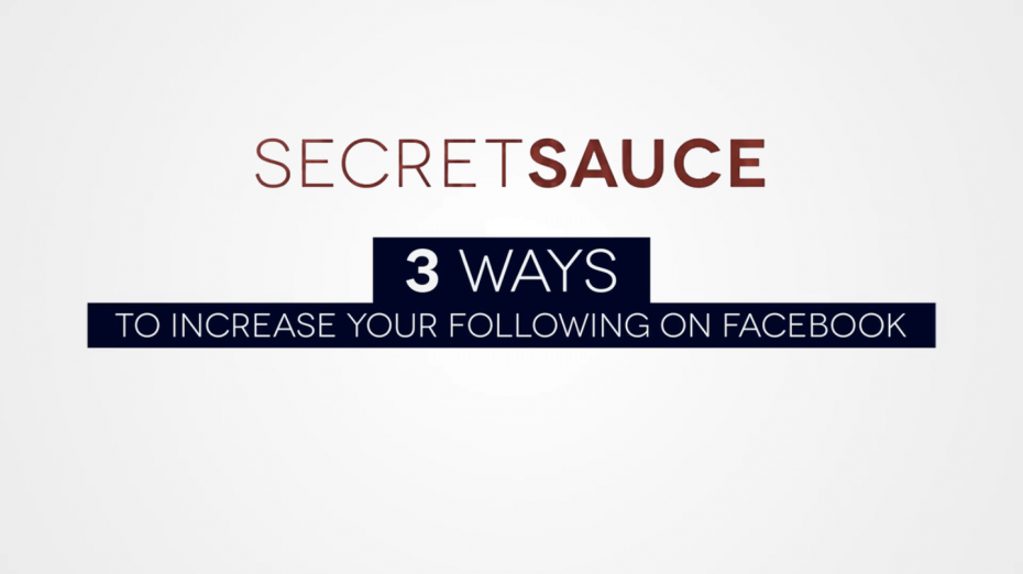 3 Ways to Increase Your Following on Facebook