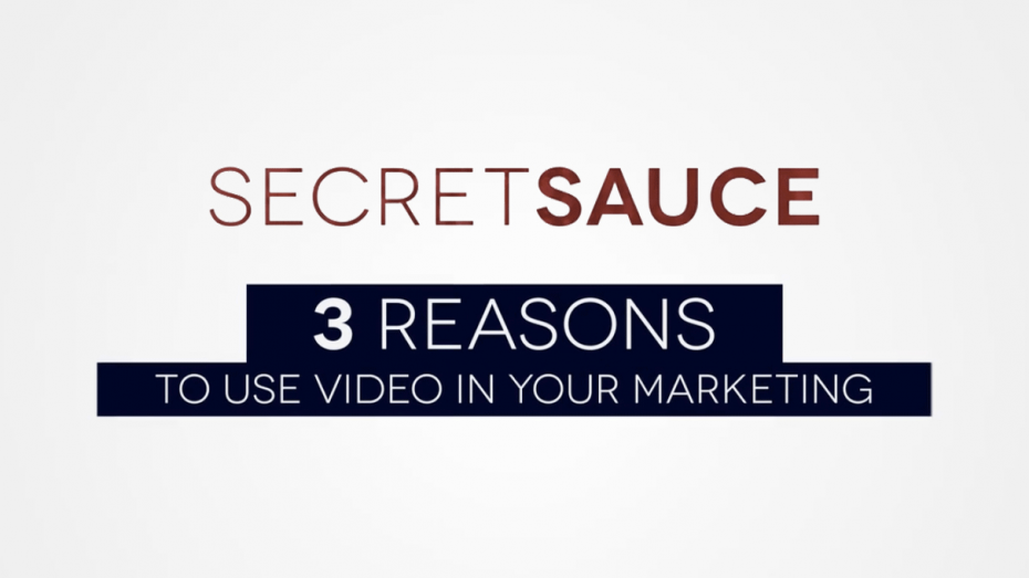 3 Reasons to Use Video in Your Marketing