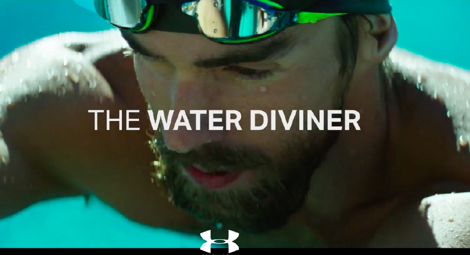 Branded Content example, Michael Phelps