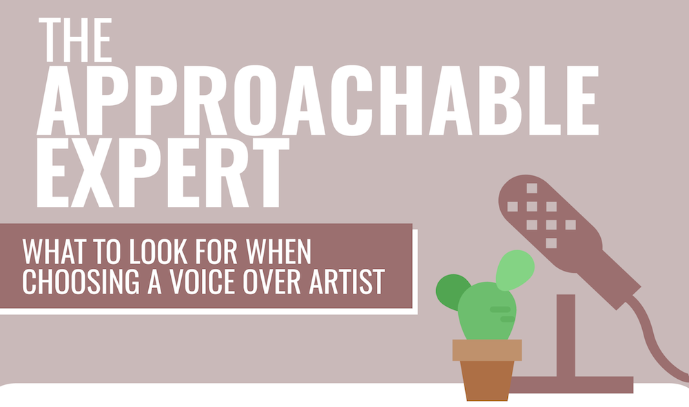 How To Choose A Voice Over Artist