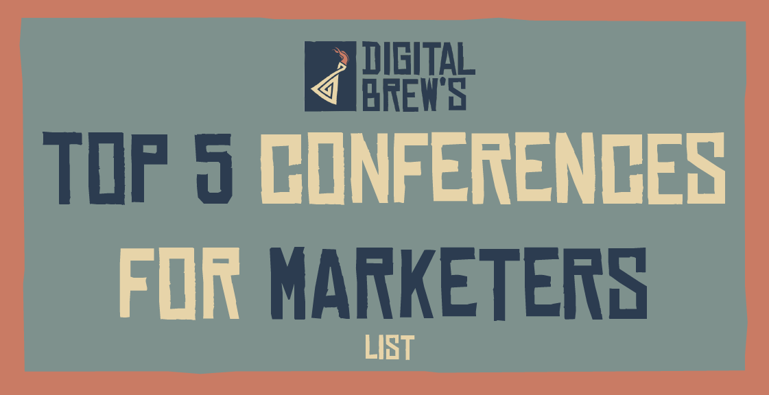 Our top list for marketing conferences