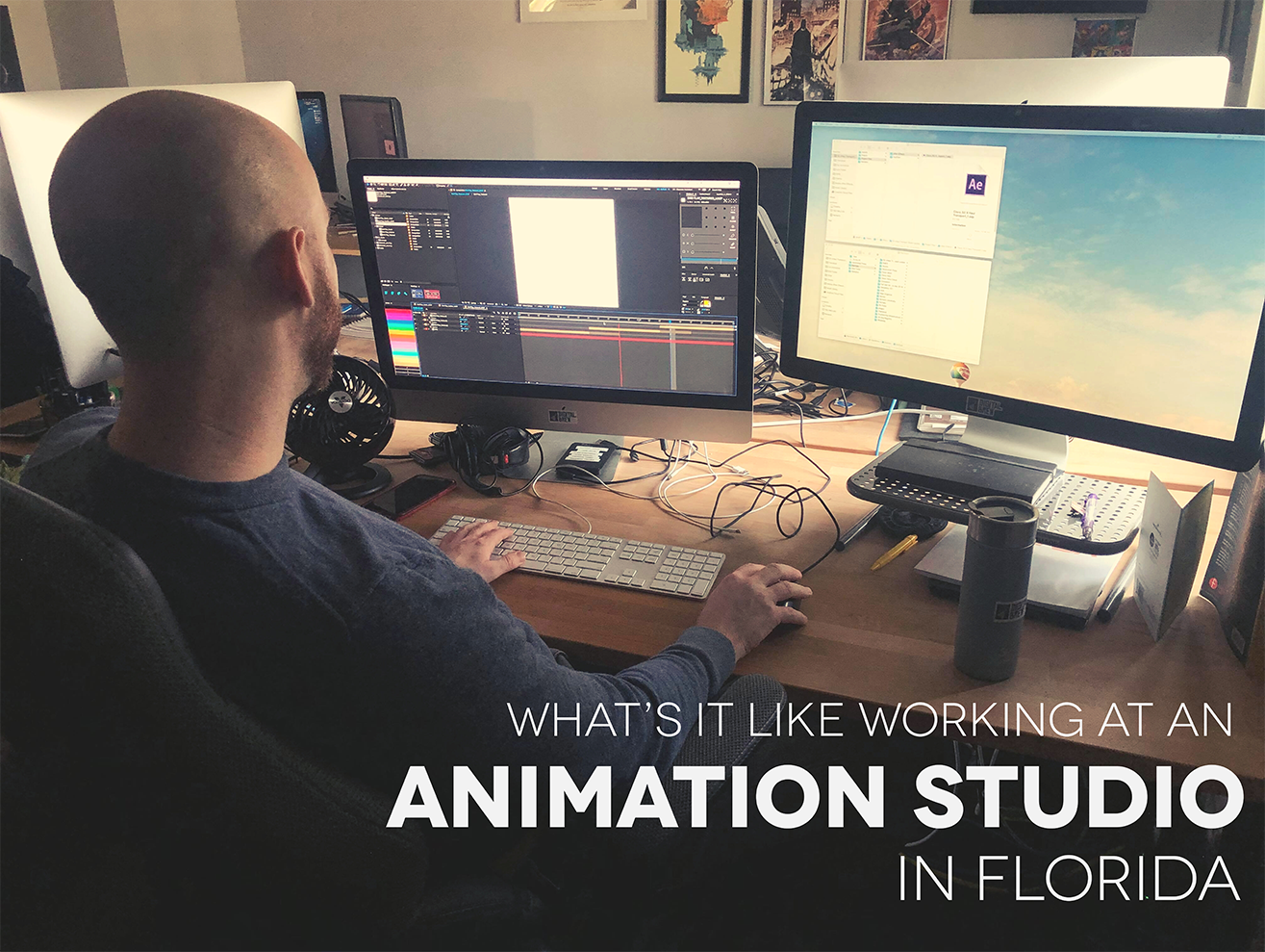 Kyle works on huis animation